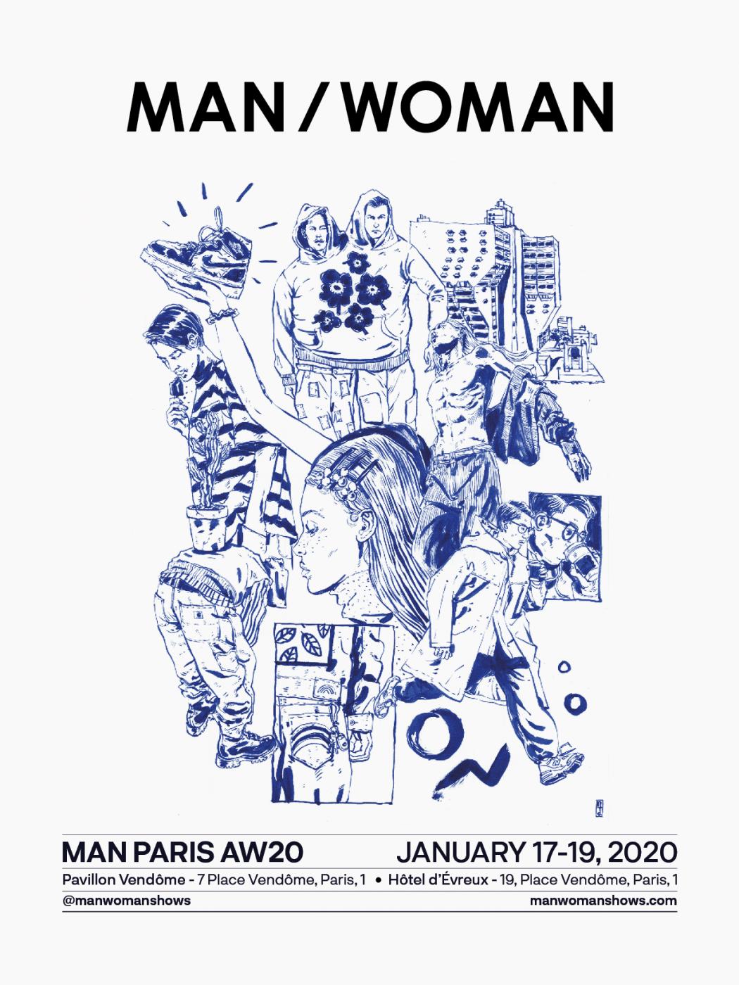 Invitation MAN Paris AW20