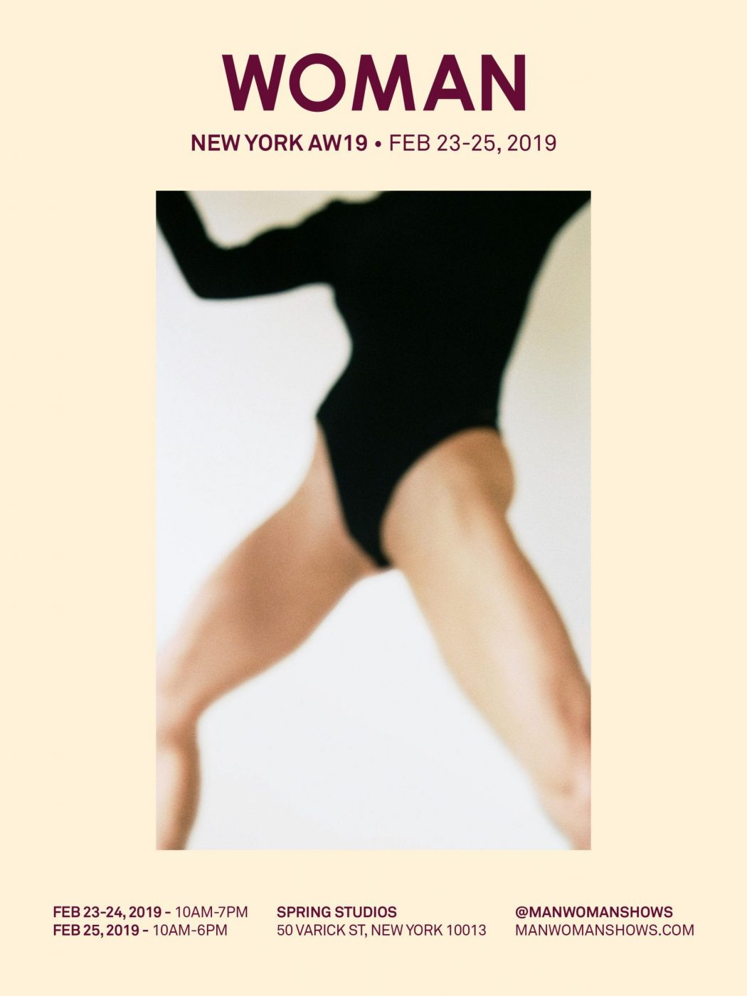 invitation WOMAN NYC AW19